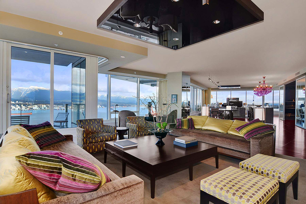 Oriental Colours Luxury Penthouse in Vancouver With Stunning Panoramic Views Worth $21,000,000
