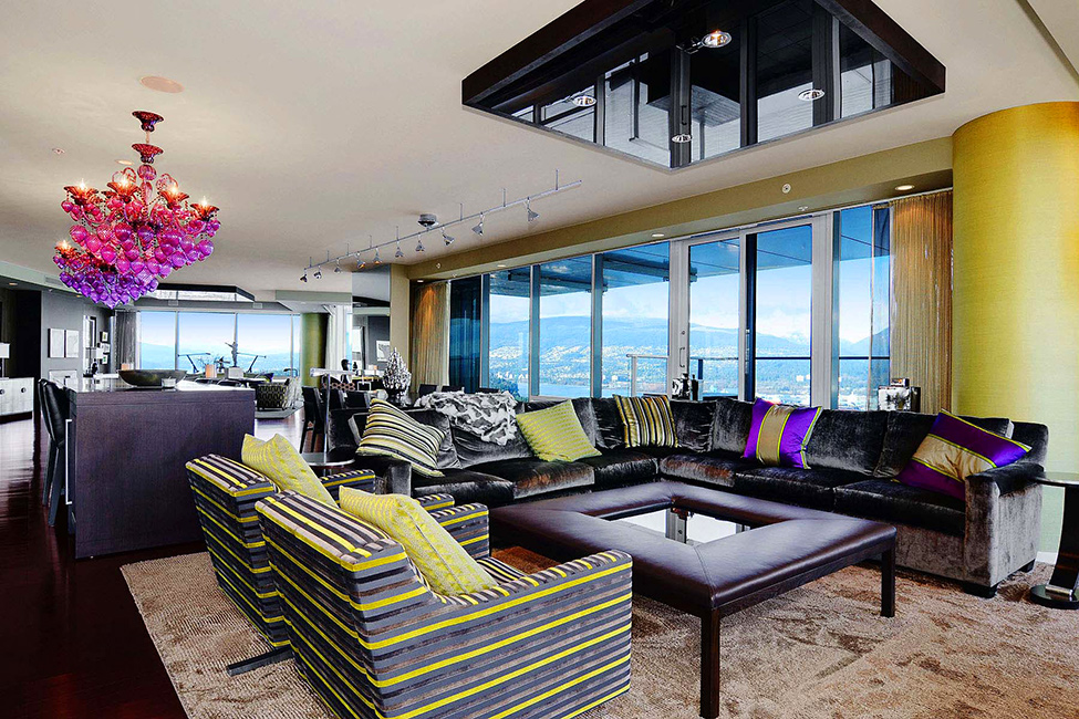 Lovely Interior2 Luxury Penthouse in Vancouver With Stunning Panoramic Views Worth $21,000,000